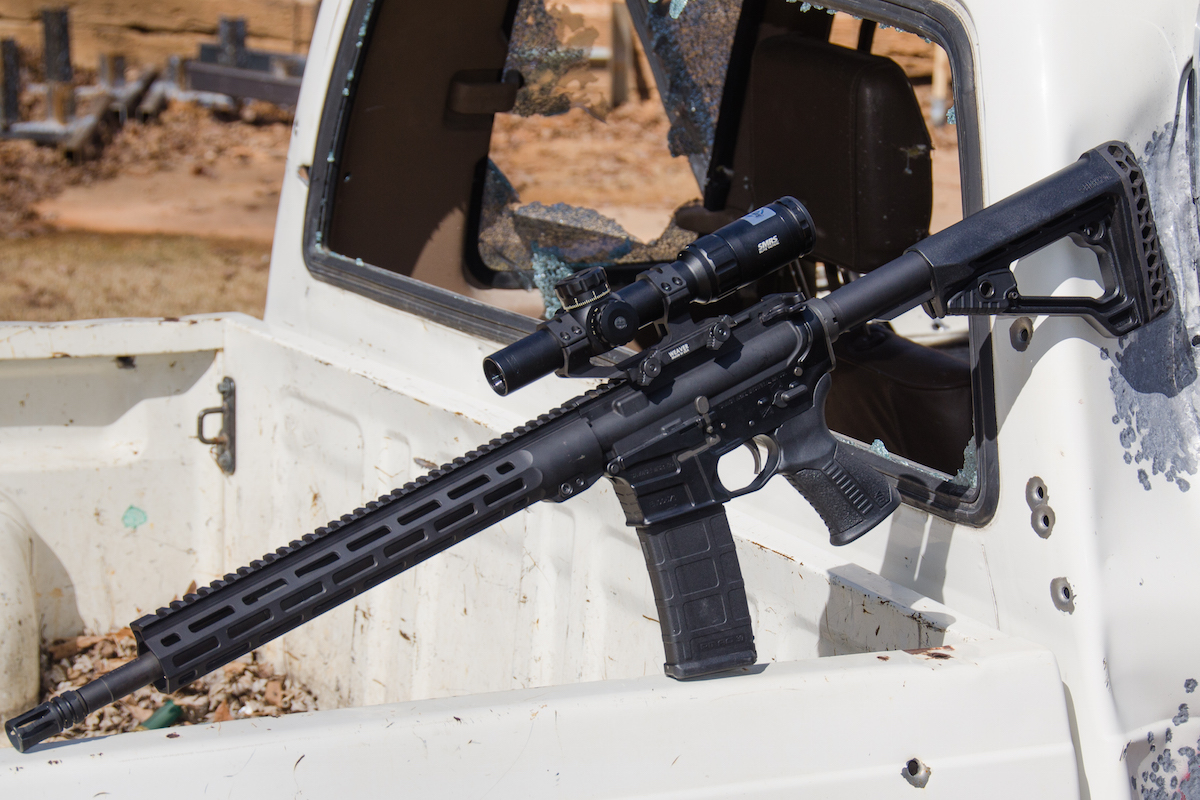 The New MSR 15 Recon: A Sub-MOA Savage AR in  223 Wylde – Full