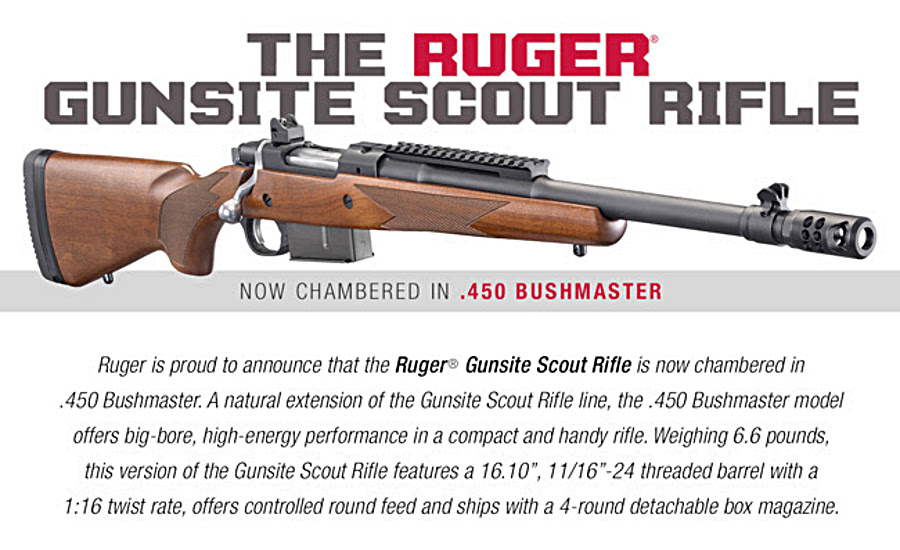 Ruger Adding New Big- and Small-Bore Bolt Guns and More
