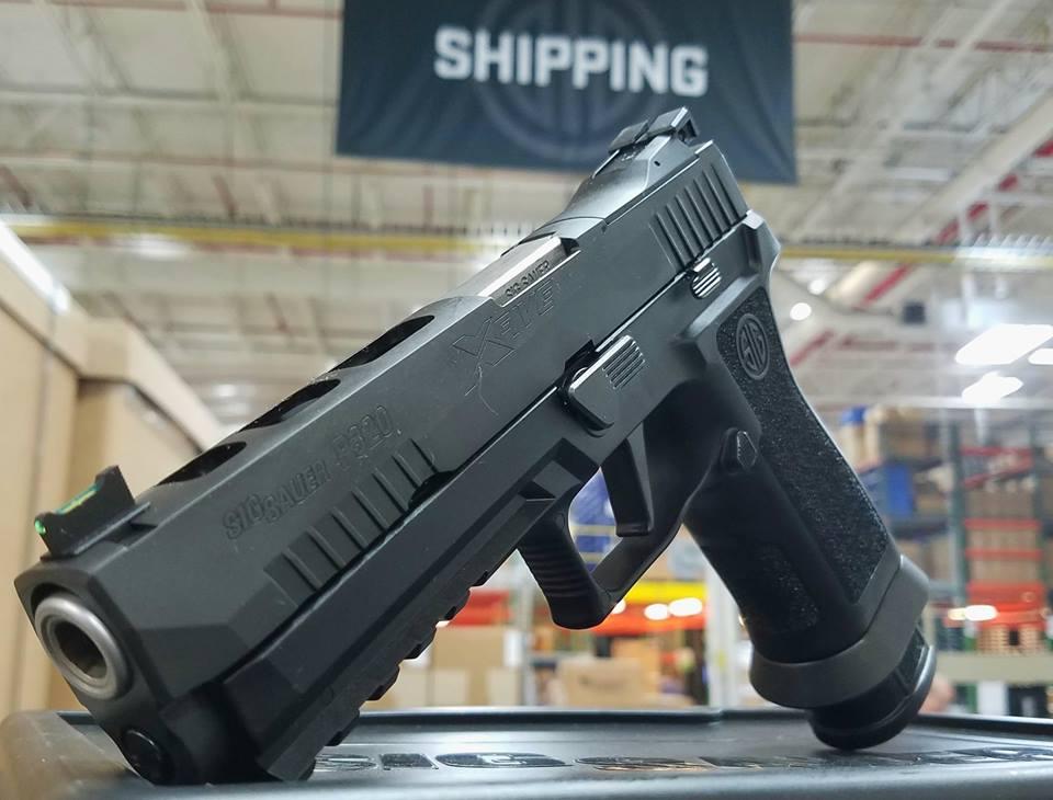 SIG P320 X-Five Now Shipping! - GunsAmerica Digest