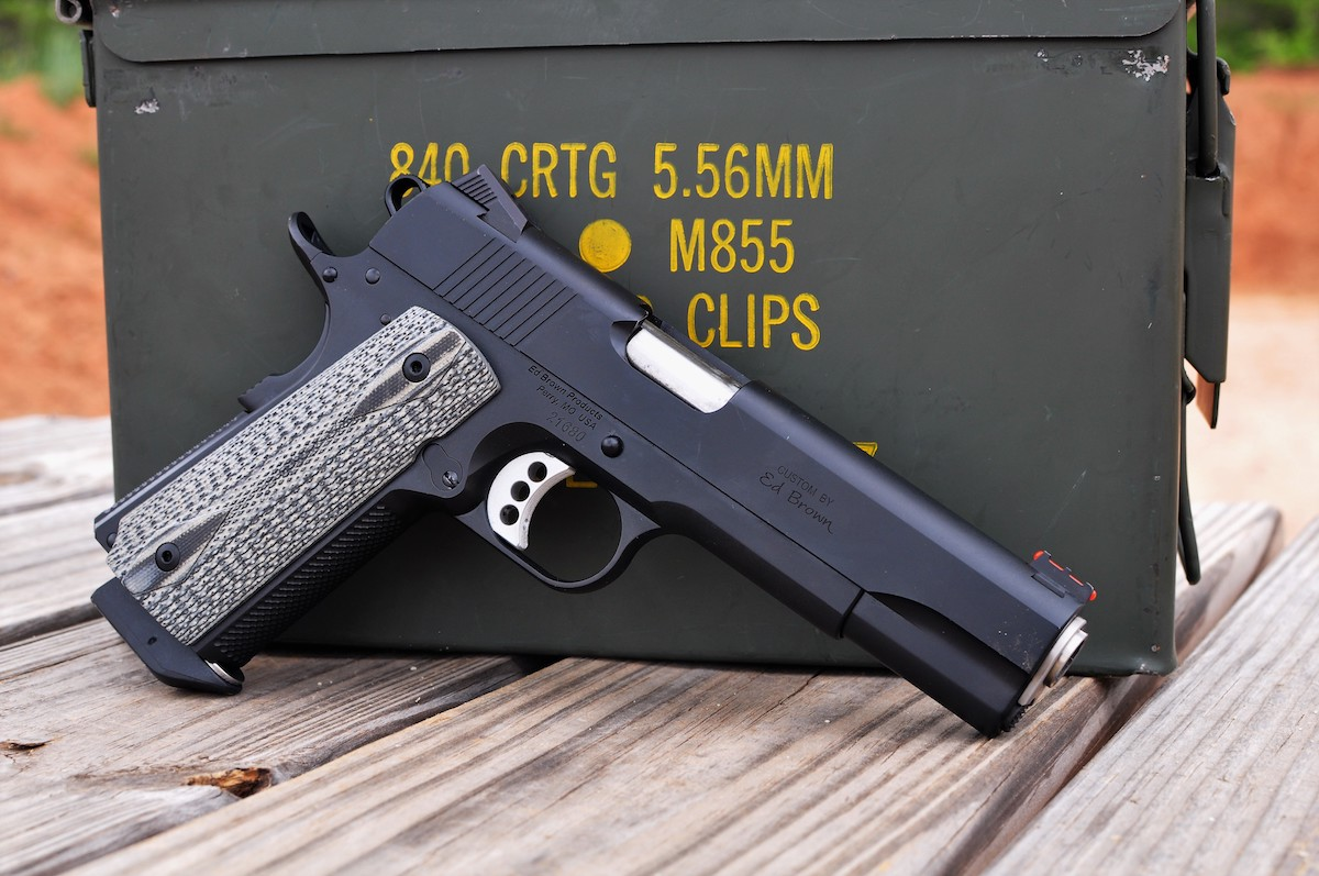 A Gunfighter's Dream: The Ed Brown Special Forces  45 ACP