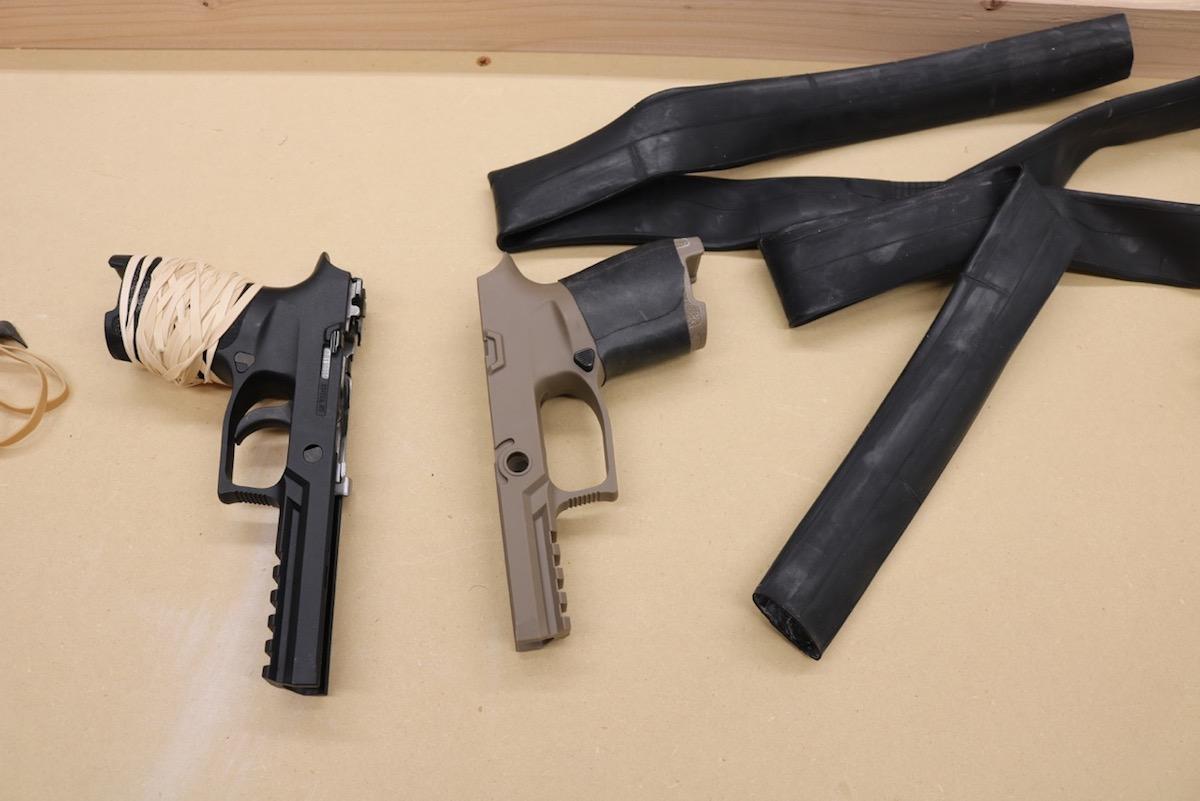 Gunfighter Tip Of The Week Easy Diy Grip Enhancement For Pistols Gunsamerica Digest