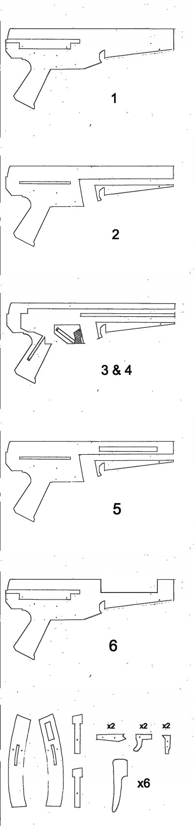 Cardboard Mp5 Templates Gunsamerica Digest