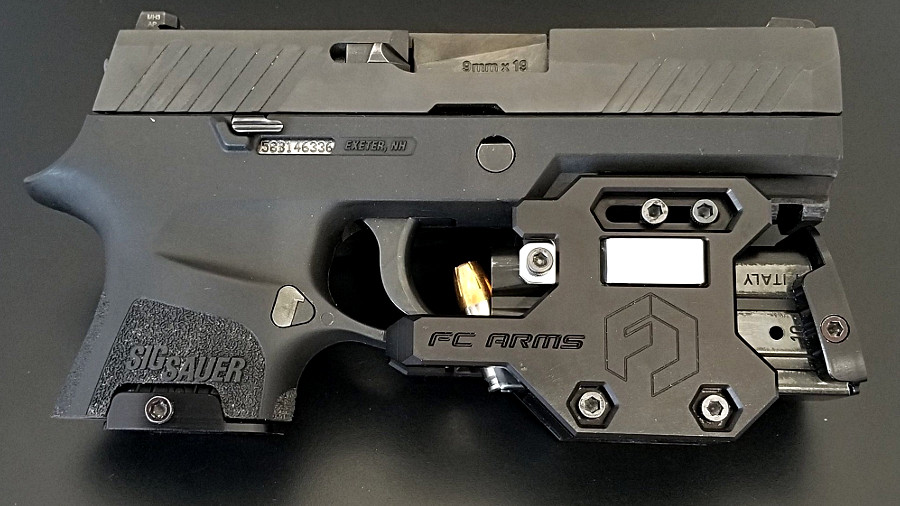 Full Conceal Goes P320 with New Custom Deep-Concealment SIGs