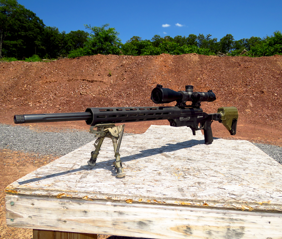 Long Range Contender? Savage Model 10 Ashbury Precision Chis ...