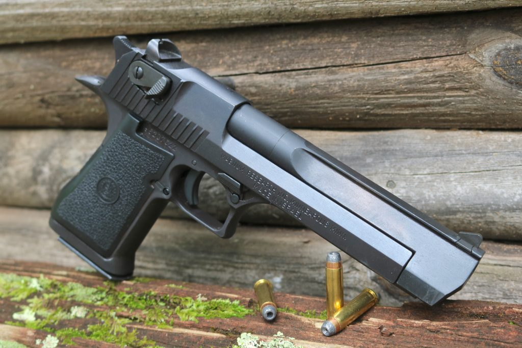 A 357 Magnum Research Desert Eagle History Movies