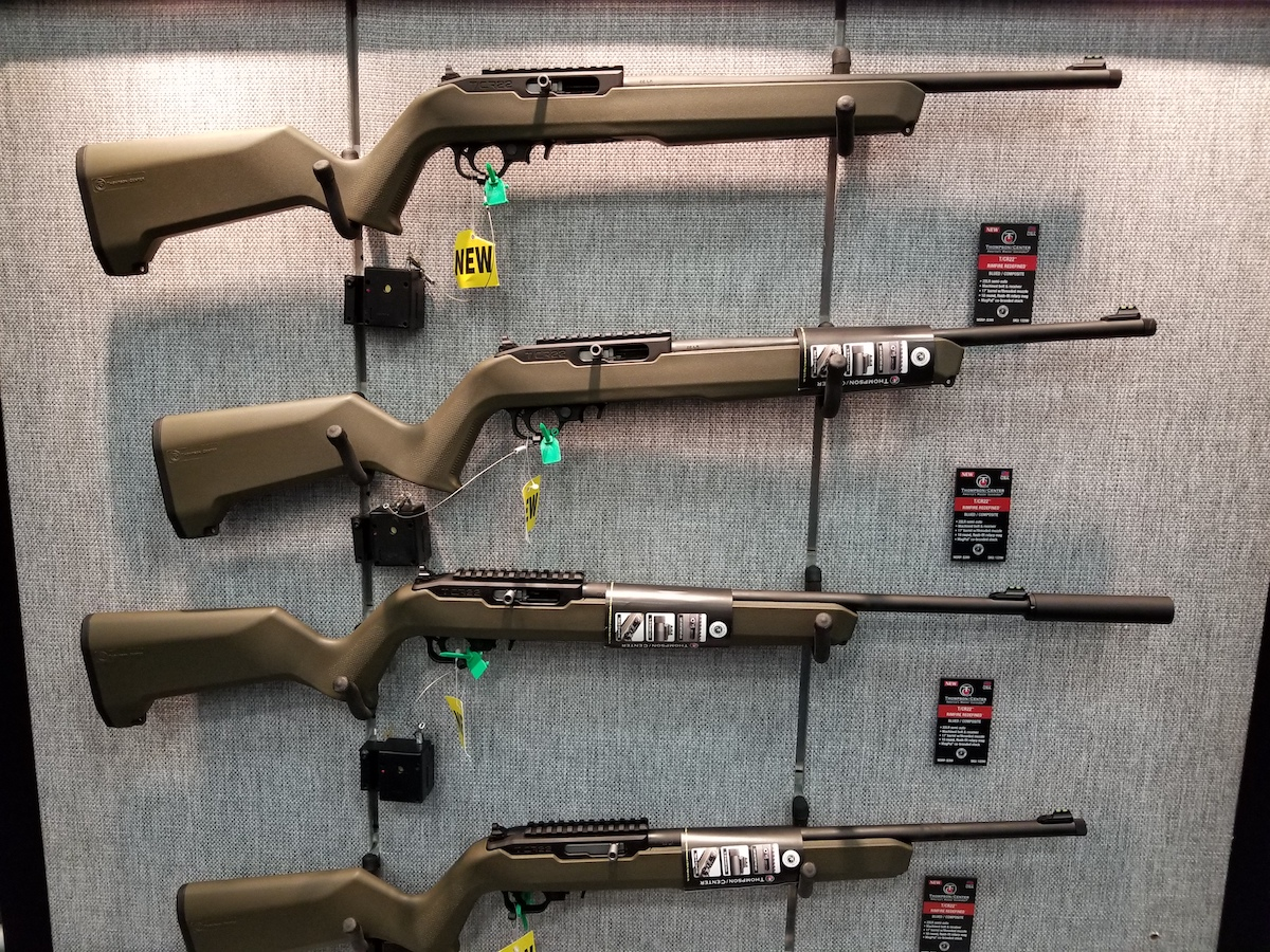 Thompson Center's New Semi-Auto  22 Rifle Takes Ruger