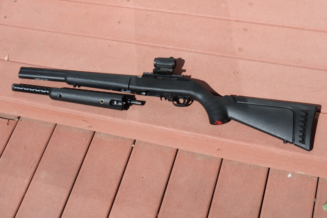Ruger Suppressed 10 22 Quiet As Death Himself