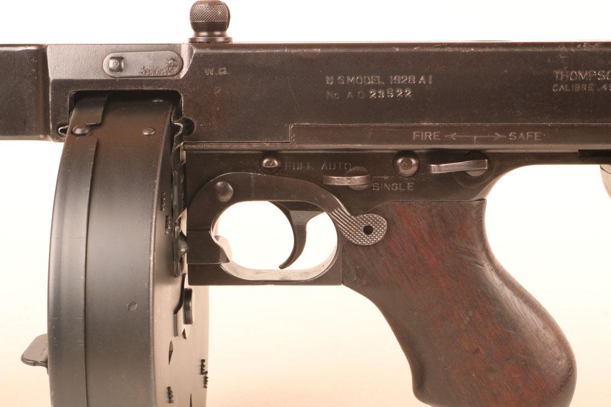 Thompson Submachine Gun Sights