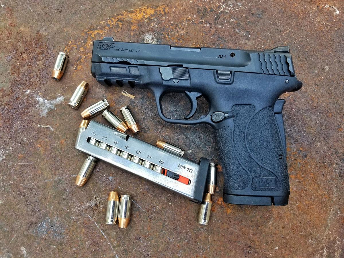 S&W Shield EZ: EZ-iest Shooting Centerfire Pistol on the