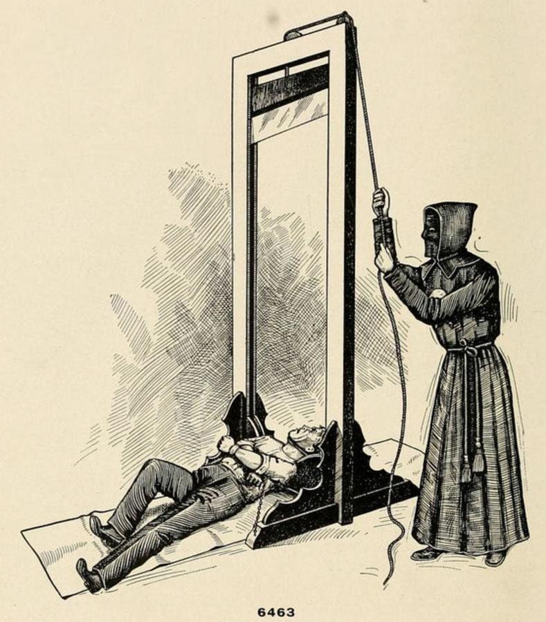 Открытка казнить, открытка днем