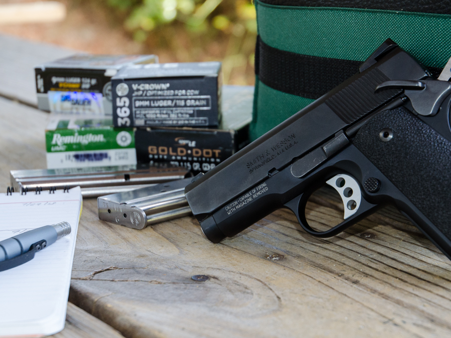 "SW1911 Pro Series 3"" 9mm: Full Review - GunsAmerica Digest"