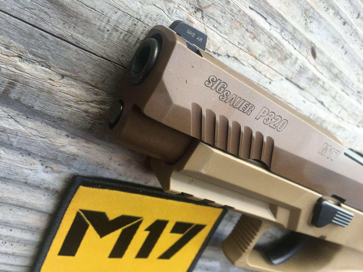 The Chosen One: The Army's M-17 Pistol Review - GunsAmerica