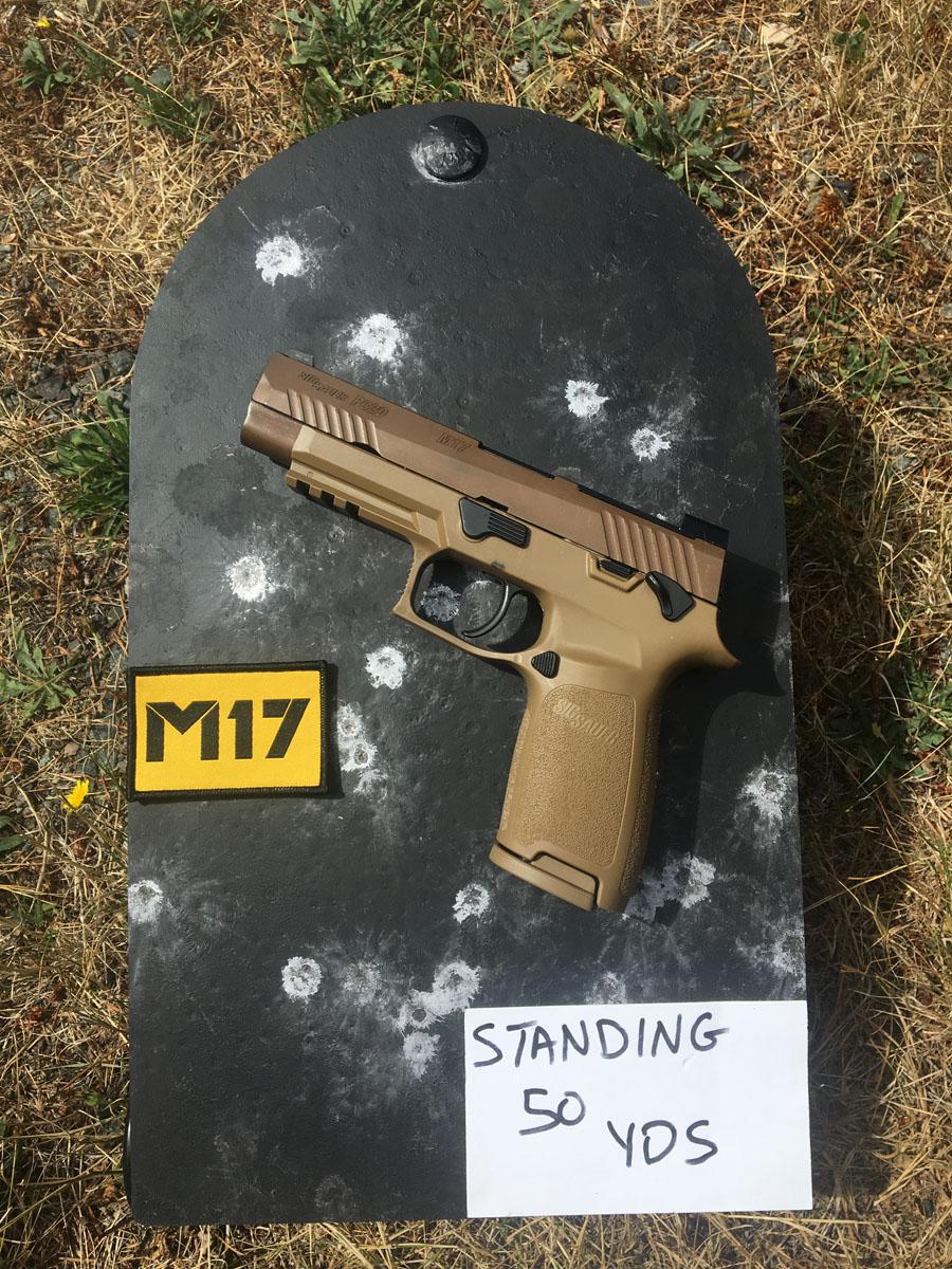 The Chosen One: The Army's M-17 Pistol Review - GunsAmerica