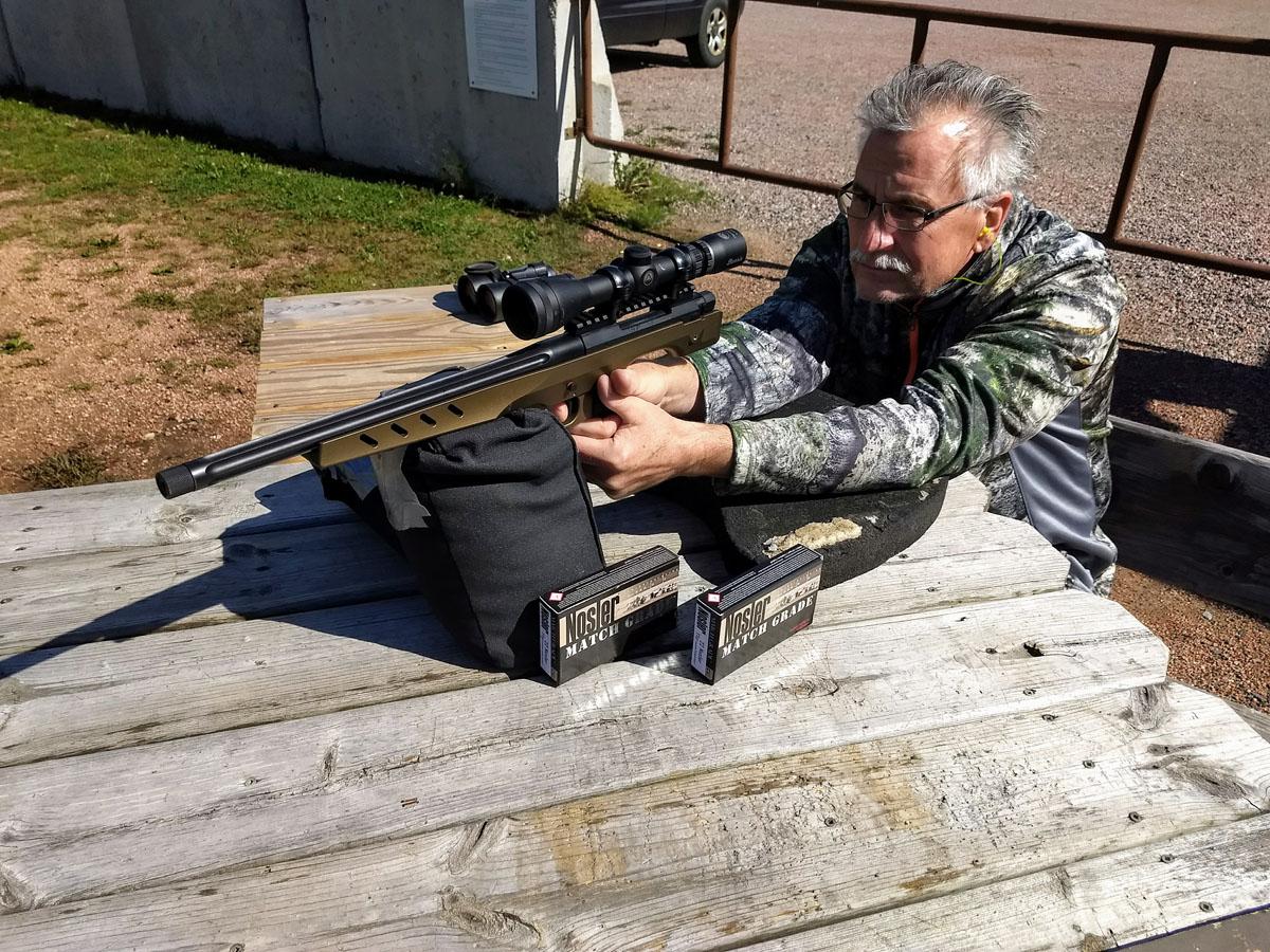 Review: The M48 Nosler Custom Handgun  Steady As She Goes