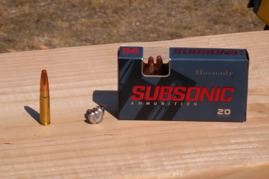 Hornady Sub X, Critical Defense Rifle, and Frontier Ammo