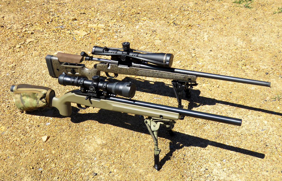 Peewee Precision Rifles:  22 Trainers for PRC Practice