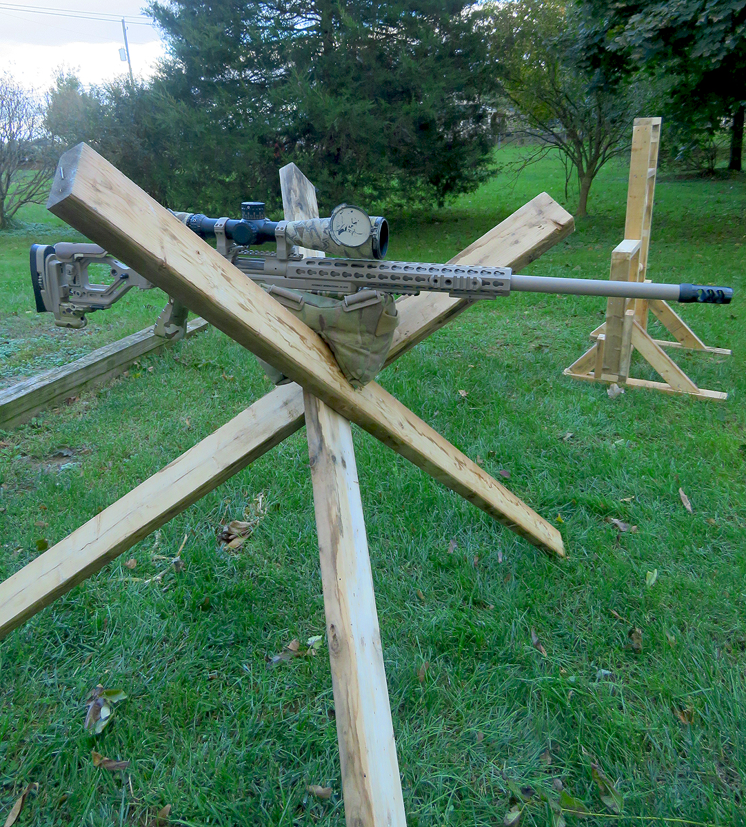 Building Barricades For Long Range Rifle Practice
