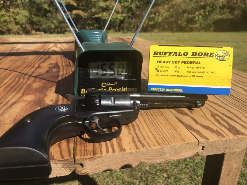 A Seven Shooter: Ruger  327 Single-Seven Review