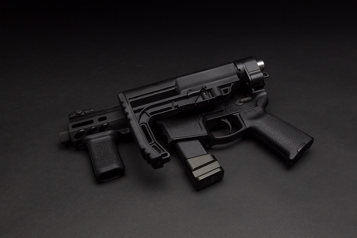 Shield Arms Releases 'World's First Folding AR-15 Lower Receiver