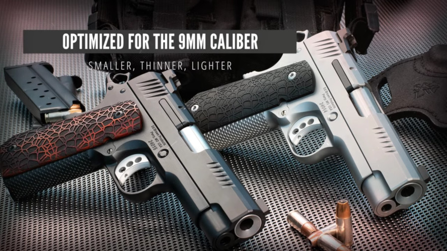 Ed Brown Launching New Evolution Series 9mm 1911s For Edc