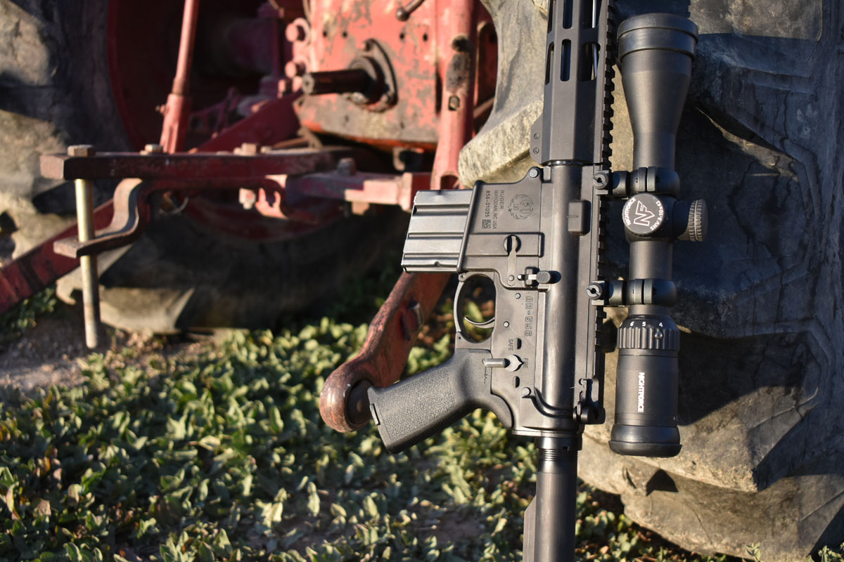 The New Big Boy on the Block: Ruger AR-556 MPR in 450