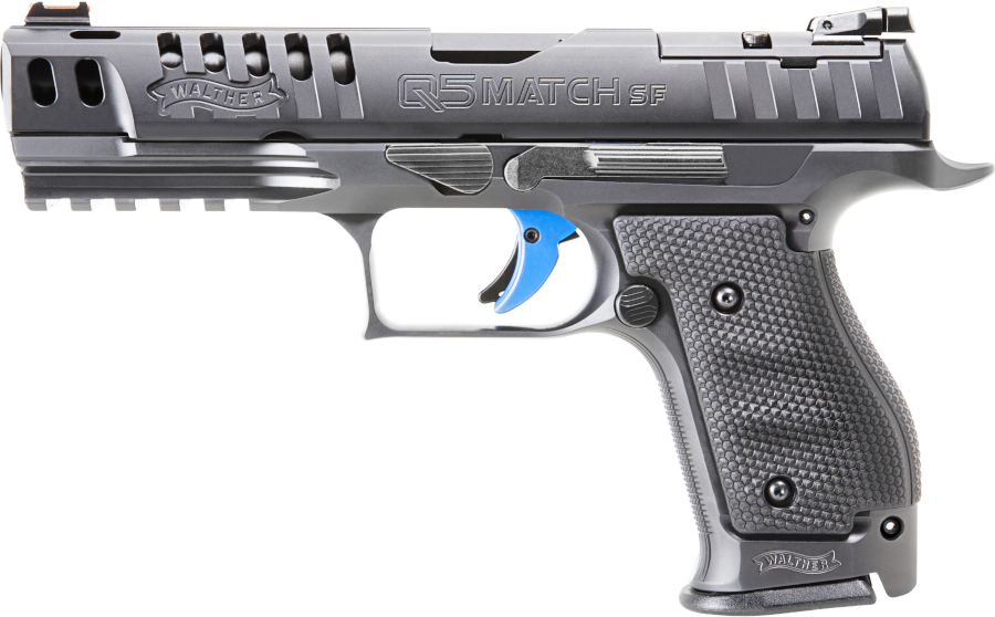 Walther Annoucing Steel-Framed Q5 Match and Competition Pistol