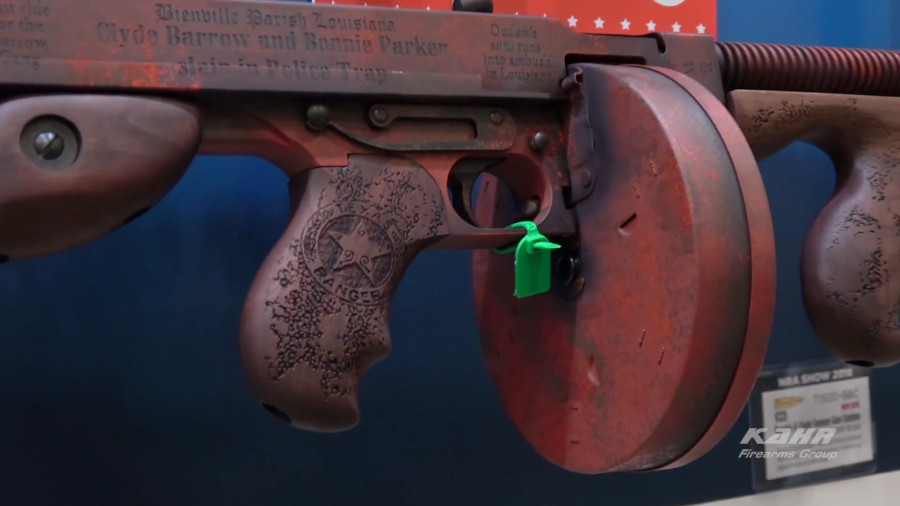 Auto-Ordnance Unveils Bonnie & Clyde Tommy Gun