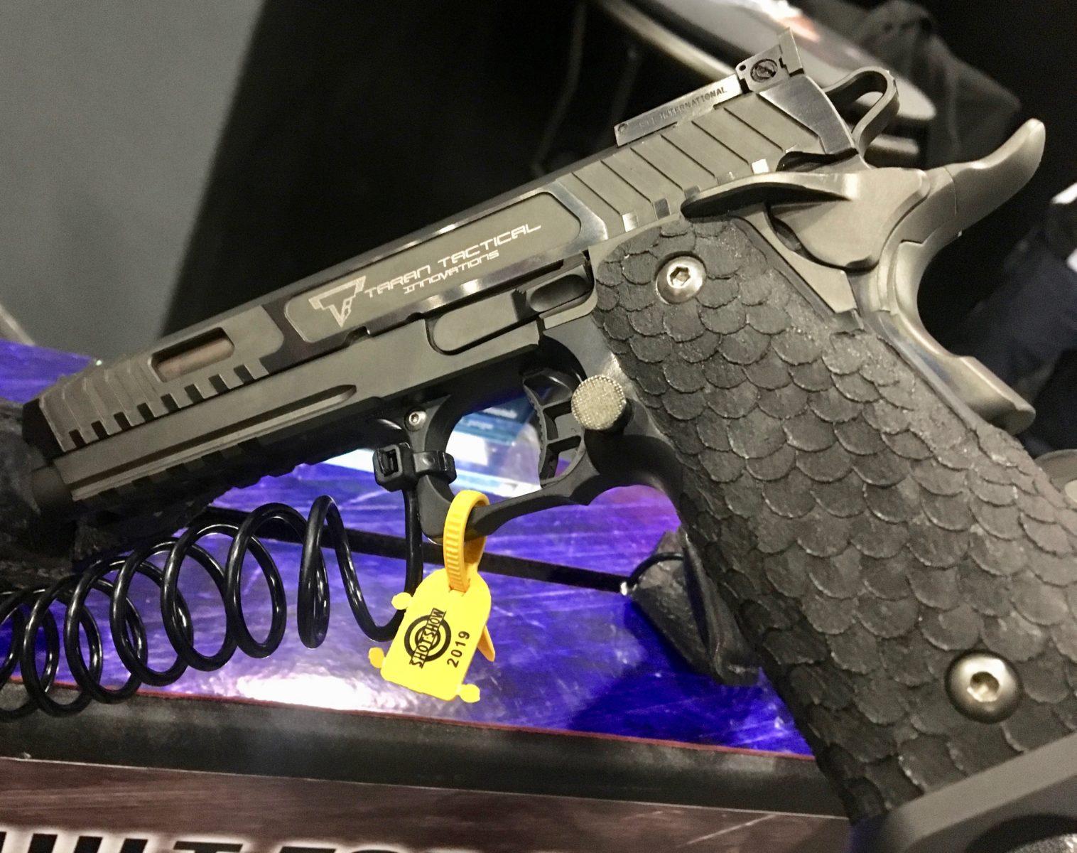The STI/ TTI Combat Master Pistol Used in John Wick 3 - SHOT Show