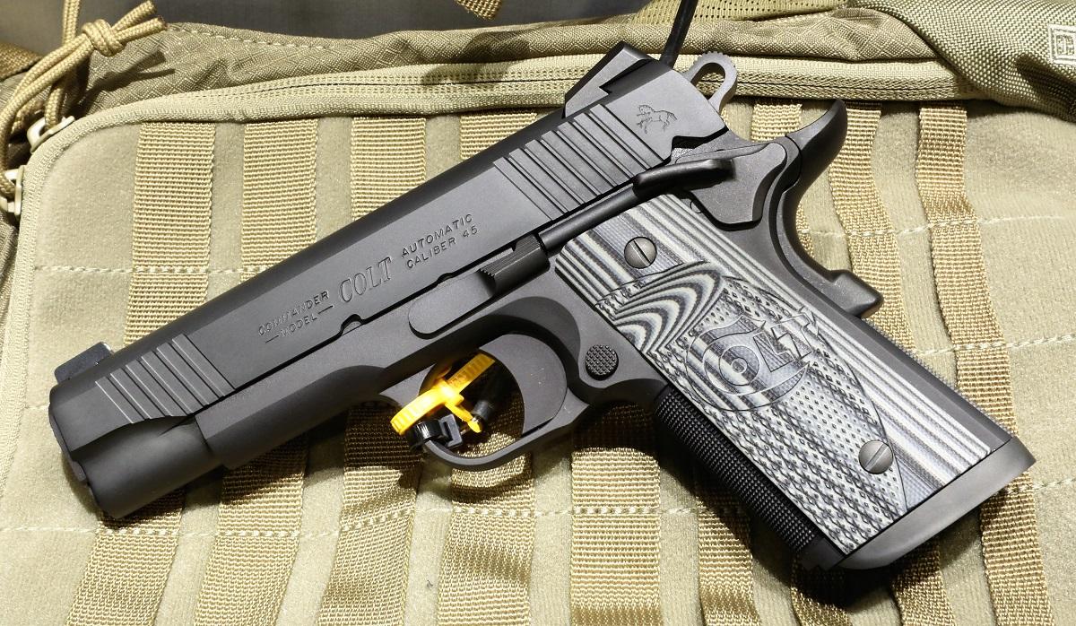 Colt Combat Unit CCO Concealed Pistol - SHOT Show 2019 - GunsAmerica