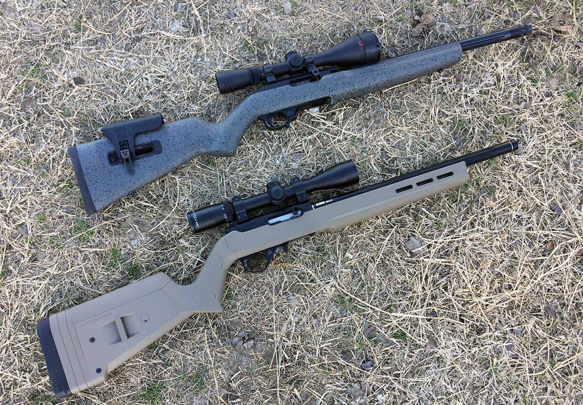 Head-to-Head: NEW Ruger Competition 10/22 vs  Custom 10/22