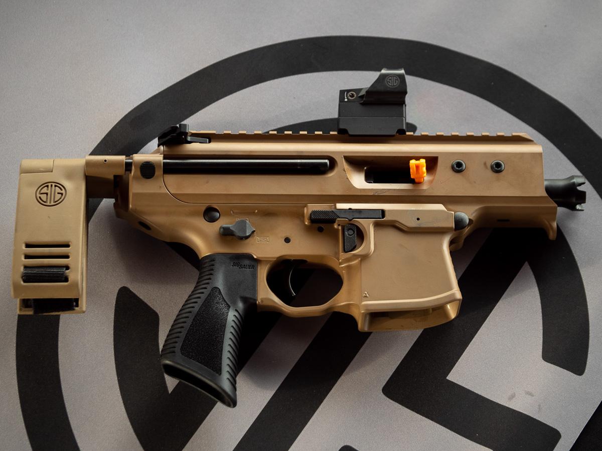 Sig Sauer's MPX Copperhead - SHOT Show 2019 - GunsAmerica Digest