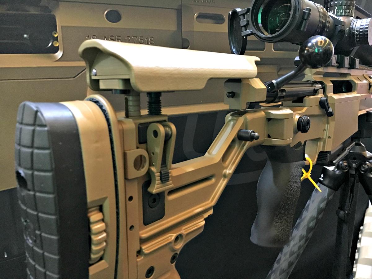 Accuracy International's ASR (Advanced Sniper Rifle