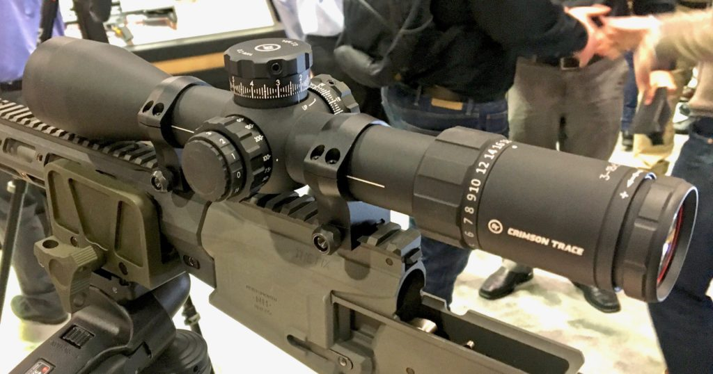 Crimson Trace Making Waves in the Optics Market – SHOT Show 2019