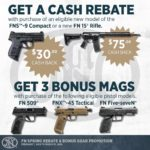 Purchase an FN And Get Cash Back! Spring Rebate & Gear Promo Now Active!