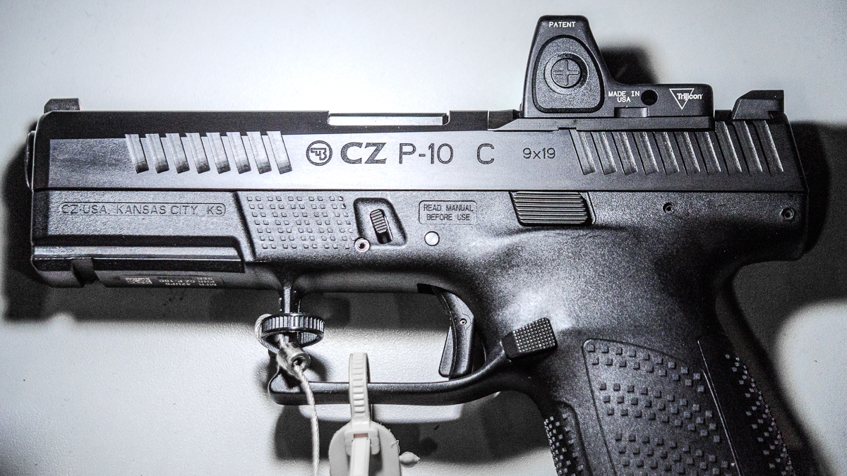 CZ's Made-In-The USA, Optics-Ready P-10 Pistols - SHOT Show