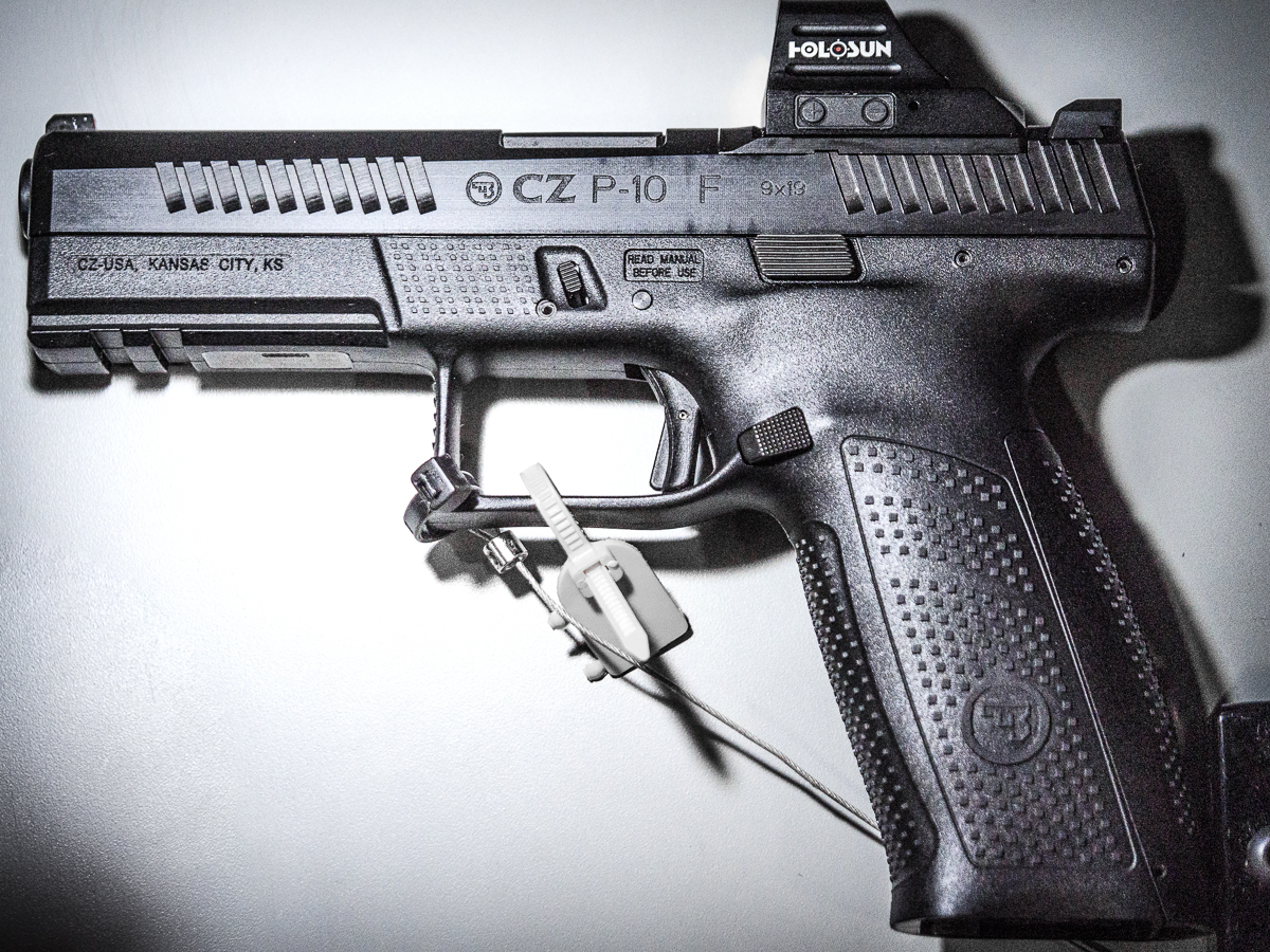CZ's Made-In-The USA, Optics-Ready P-10 Pistols - SHOT Show 2019