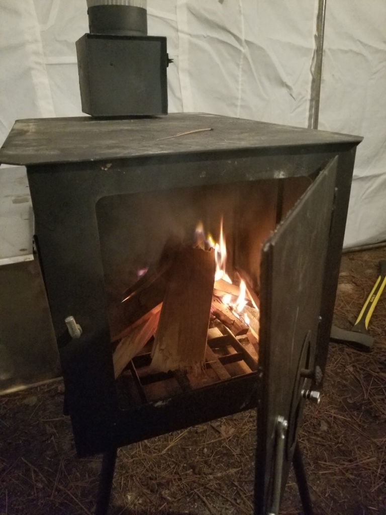Wall Tent Wilderness Wood Camping Stove Review