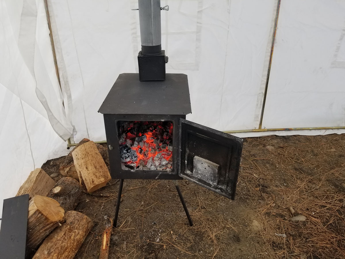 Stupendous Wall Tent Wilderness Wood Camping Stove Review Home Interior And Landscaping Ymoonbapapsignezvosmurscom