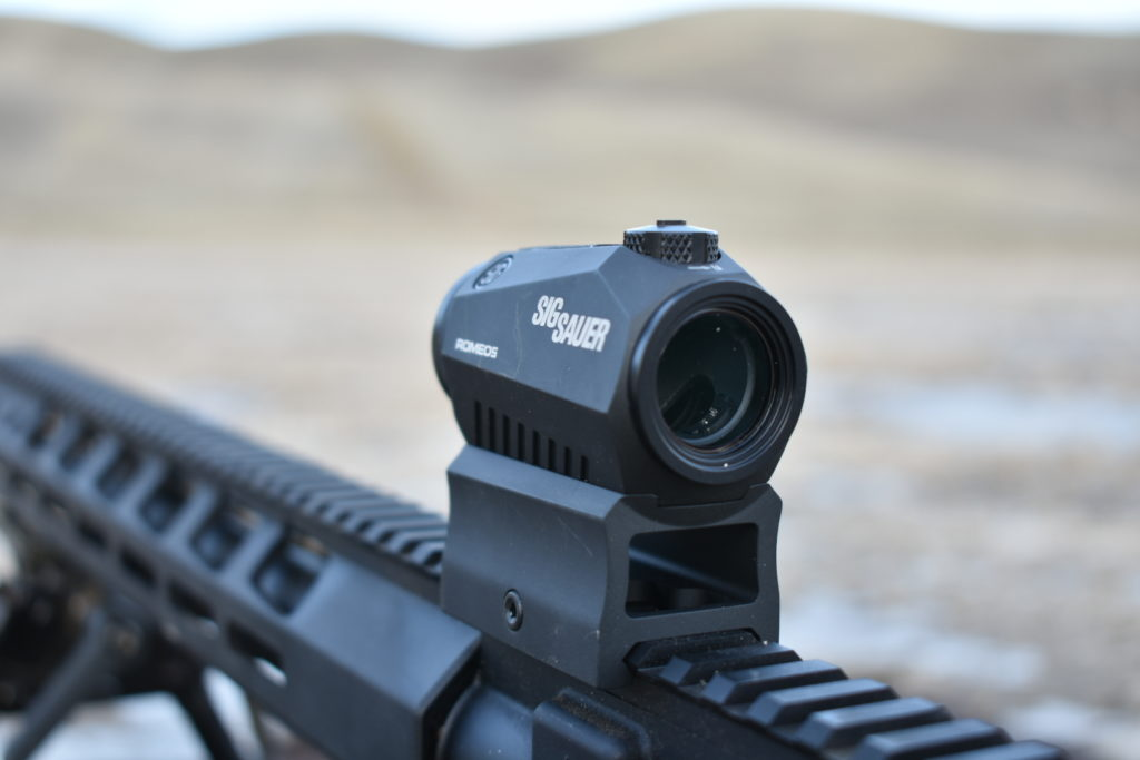 Sig Sauer's Compact Red Dot Sight: The ROMEO5 1x20mm