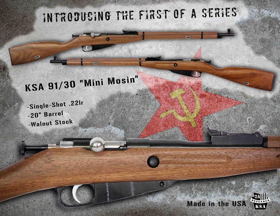Got a Mini Shooter? Check Out These Mini Mosin-Nagants!
