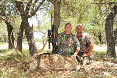 Going Long For Axis Deer: Hunting a Free-Ranging Texas Exotic