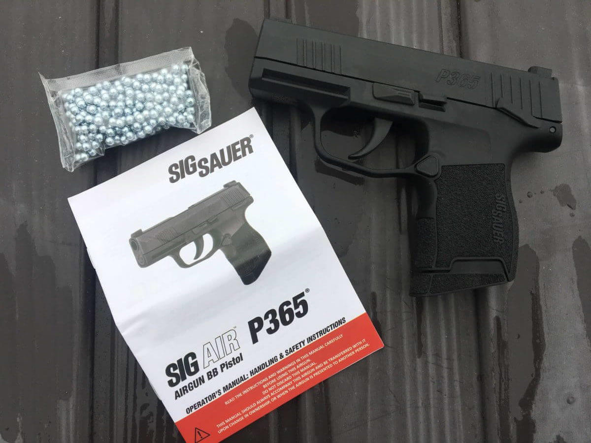 SIG AIR P365 BB Gun: The Perfect Concealed-Carry Trainer
