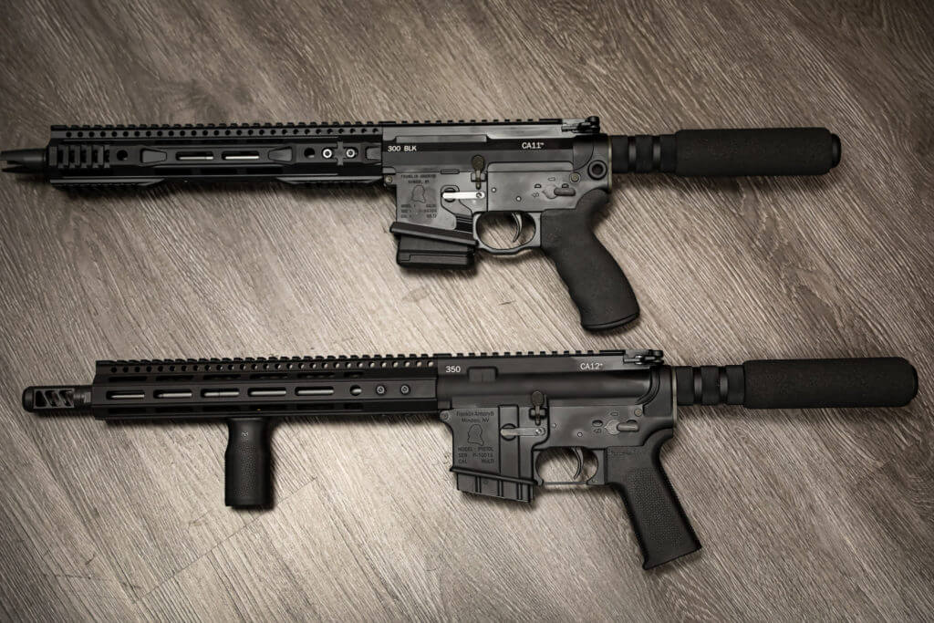 Franklin Armory Unveils Two New California Friendly Ar 15s