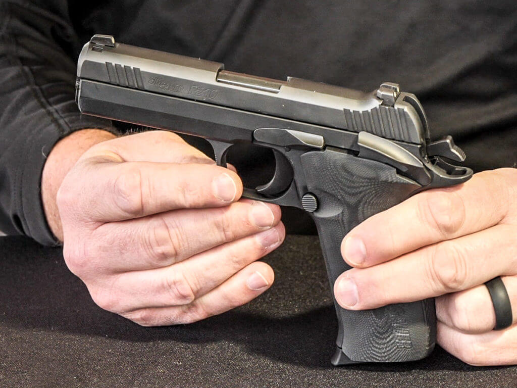 Is This The Greatest Carry Gun Ever Made Sig S New P210 Carry Shot Show 2020 Gunsamerica Digest