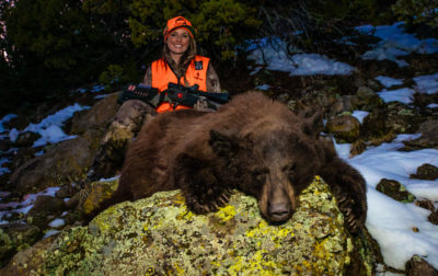 Spring Spot & 038; Stalk Black Bear Hunting