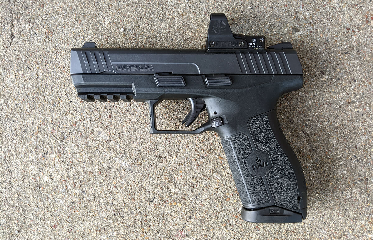 Is The Iwi Masada The Sig P320 Killer Not Quite Yet But Maybe Soon Gunsamerica Digest